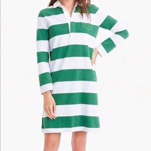 Jcrew Rugby shirt dress